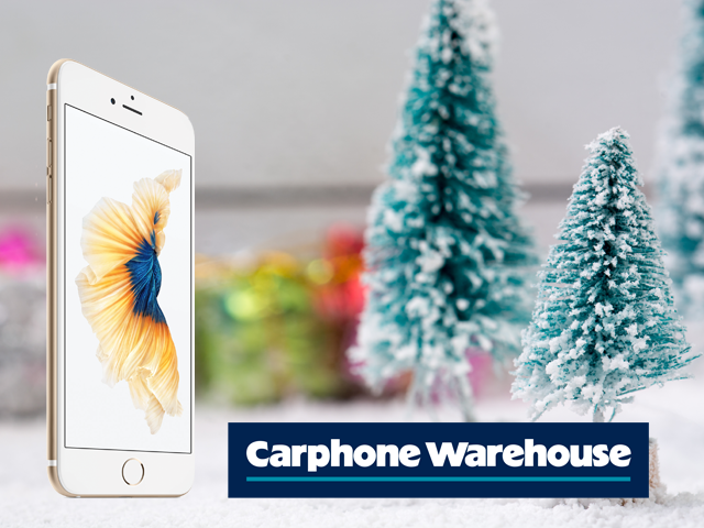 christmas discount at carphone warehouse