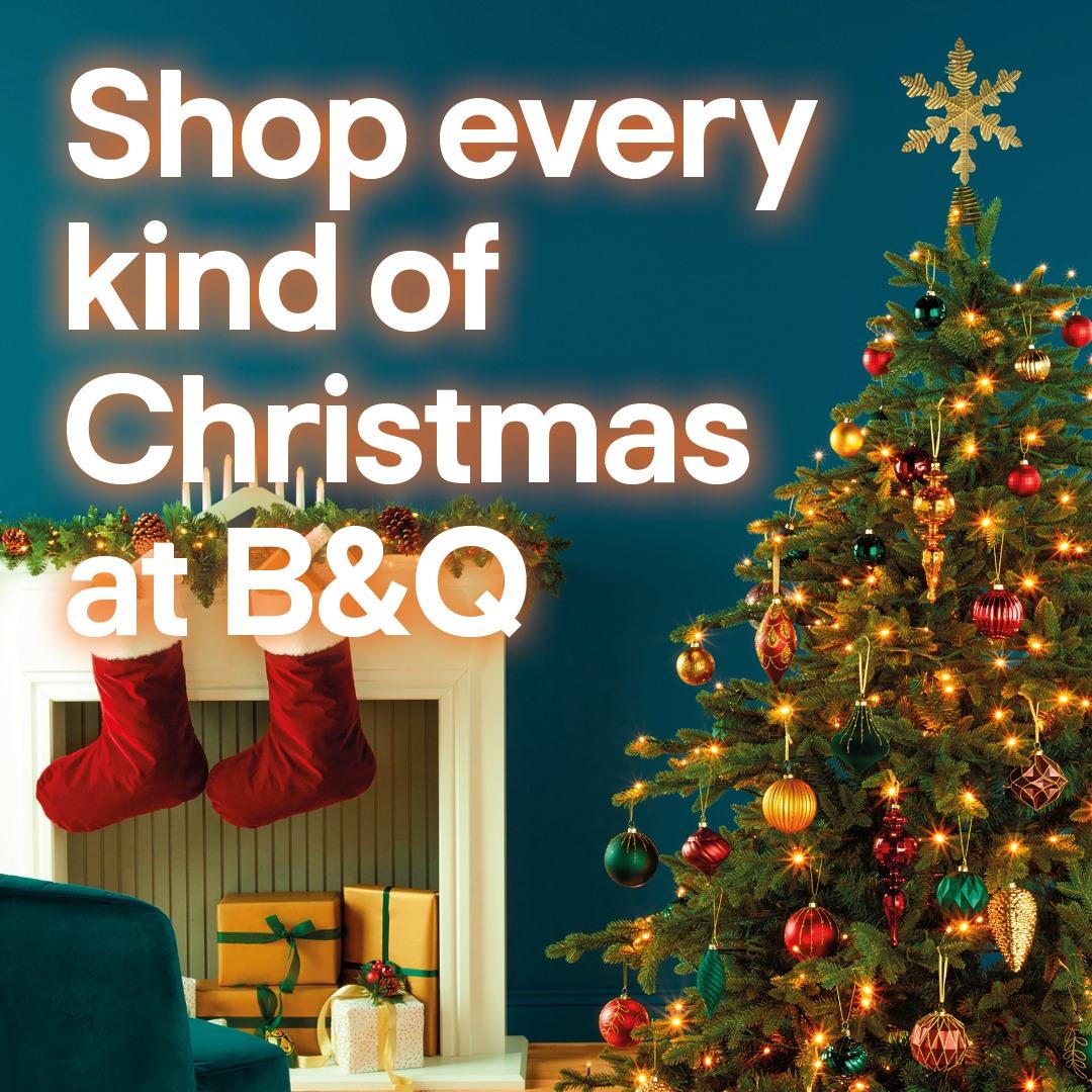 Shop Christmas at B&Q