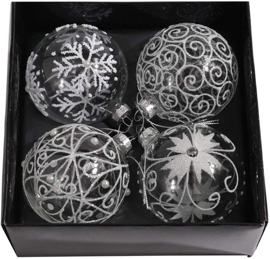 box set christmas baubles