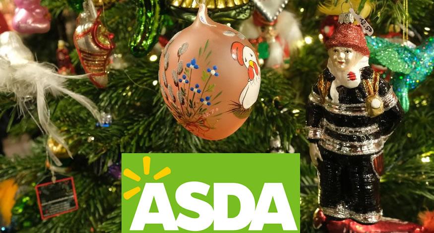 asda christmas trees