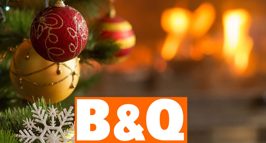b&q christmas tree 2021